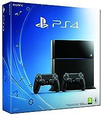 PlayStation 4 - Konsole (500GB) inkl. 2 DualShock Controller [CUH-1116A]