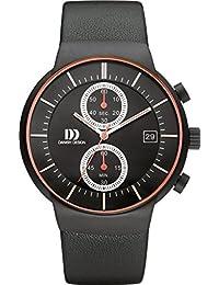 Danish Design Unisex-Armbanduhr DANISH DESIGN IQ24Q1128 Chronograph Quarz Leder IQ24Q1128