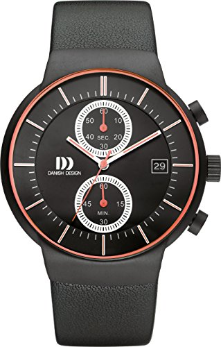 Danish Design Unisex Watch Danish Design IQ24Q1128 Chronograph Quartz Leather IQ24Q1128