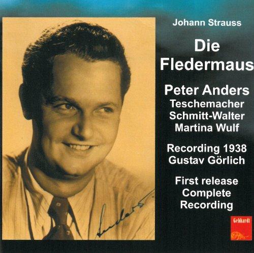 Preisvergleich Produktbild Die Fledermaus (1938,  First Release,  Complete Recording)