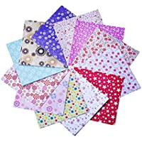lumanuby 50hojas/Set origami papel impresión en color Origami Papel Hecho A Mano Cut niños DIY color papel 15x 15cm (50colores), papel, colorful#5, 15 cm