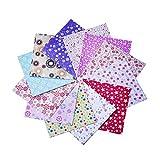 Leisial 150*150mm 72 Stücke Origami Papier Weihnachten Faltpapier Netter Faltpapier 12 Farben Bunt 2