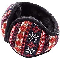 Unisex Faltbare Ohrenschützer Warme Strick Ohrenwärmer Fleece Winter Ohrenschützer, B4 preisvergleich bei billige-tabletten.eu