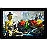 JSOnline Large Size Buddha Paintings || Buddha Painting || Buddha Wall Paintings || Buddha Wall Stickers || Buddha Wall Poster || Buddha Canvas Painting || Buddha Paintings Framed || Buddha Paintings With Frame || Buddha Wall Painting With Frame || Large