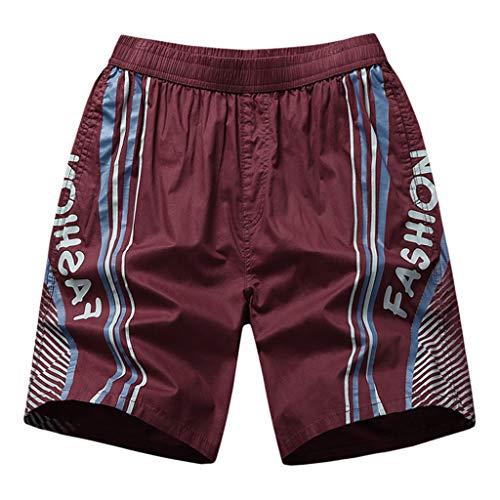Zolimx- Bekleidung Herren Sweatshorts Sporthose Joggers Sommer Neue Taschen Strand Hose Baumwolle Multi-Pocket Overalls Shorts Mode Hose