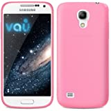 vau Colors Case - sweetest pink - TPU Skin für Samsung Galaxy S4 MINI