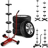 Fahrbarer Reifenhalter für 4 Kompletträder - Felgenbaum Reifenwagen Modellauswahl