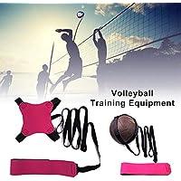 ZSLGOGO Equipo de Entrenamiento de Voleibol Entrenador de fútbol en Solitario Equipo de Entrenamiento de fútbol Entrenador de práctica en Solitario Gran Regalo para Principiantes y Profesionales
