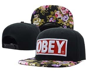 Obey Snapback Cap Hat Floral black Blumen Tisa Last Kings Ymcmb Diamond&Crooks Dope Drake SSUR Channel Zero