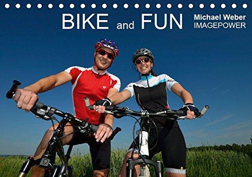 BIKE and FUN (Tischkalender 2019 DIN A5 quer): Aus Freude am Radfahren (Monatskalender, 14 Seiten ) (CALVENDO Sport)