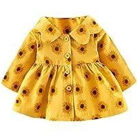 Ropa Bebé , Amlaiworld Bebé niña otoño invierno encapuchado abrigo chaqueta capa gruesa ropa caliente 0-24 Mes
