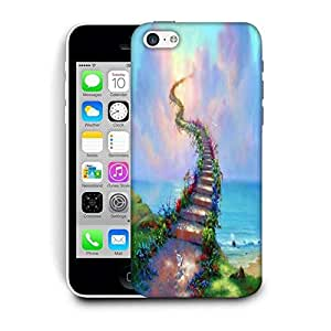 Snoogg Stairs To Heaven Printed Protective Phone Back Case Cover For Apple Iphone 6+ / 6 Plus