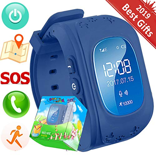 Reloj Niños,TURNMEON Kids Smartwatch GPS Tracker