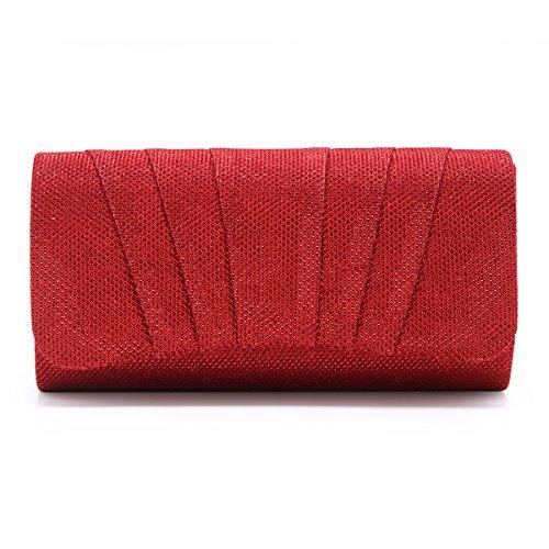 Damara - Borsa a tracolla donna (rosso)