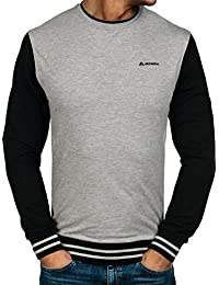 BOLF – Sweat – Pull de sport – Col rond – Classic – Pullover – Homme [1A1]