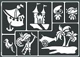 Kreul 74813 - Window Style Schablone Piraten