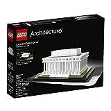 LEGO Architecture Lincoln Memorial Niño/niña 274pieza(s) Juego de construcción - Juegos de construcción (12 año(s), 274 Pieza(s), Niño/niña, Arquitectura, 12 cm, 9 cm)