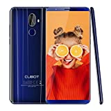 Cubot X18 Plus(2018) 4G LTE Smartphone 5,99 Zoll Handy ohne Vertrag 64GB ROM+4GB RAM Android 8.0,20MP+2.0MP Hauptkamera 13MP Frontkamera 4000 mAh Akku(5V/2A) 1.5GHz,Dual SIM GPS(Blau)