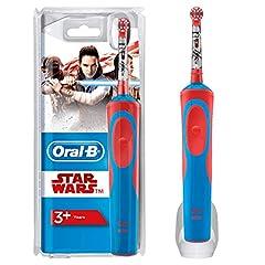 Idea Regalo - Oral-B Stages Spazzolino Elettrico per Bambini Star Wars con Personaggi
