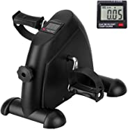 Zofey Portable Mini Home Pedal Cycle Gym Fitness Exerciser with Adjustable Resistance LCD Display for Leg,Arm Cardio