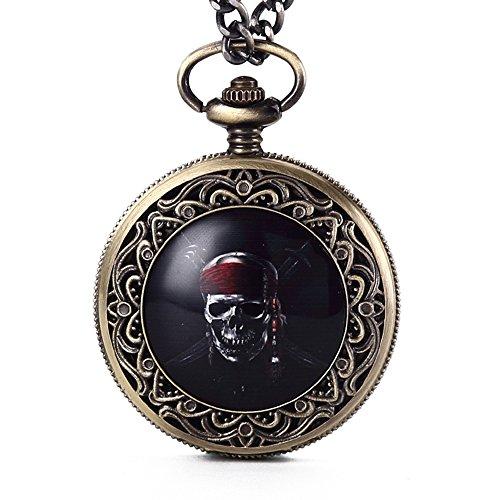 Reloj de bolsillo <Calavera de la muerte>