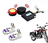 Best Motorcycle Alarm Systems - AutoStark Bike Voice Assist Central Locking Alarm System-Royal Review
