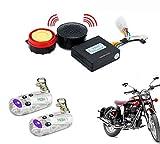 AutoStark Bike Voice Assist Central Locking Alarm System-Royal Enfield Classic 350