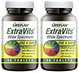 (2 Pack) - Lifeplan - Extravits Wide Spectrum LP-A5115 | 90