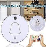 HD Smart WiFi Türklingel Videokamera Besucher Recorder Monitor APP Home Security Videotürklingel