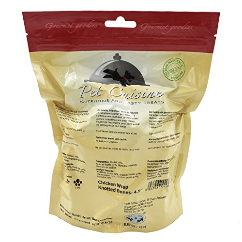 Pet-Cuisine-Dog-Training-Snacks-Puppy-Chewy-Dental-Treats-Chicken-Wrap-Knotted-Bones-45-250g