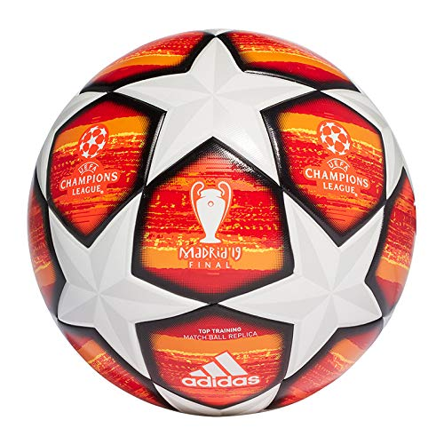 finest selection 5845e aae6b adidas Finale M TTRN Soccer Ball, Hombre, TopWhiteActive Scarlet Red