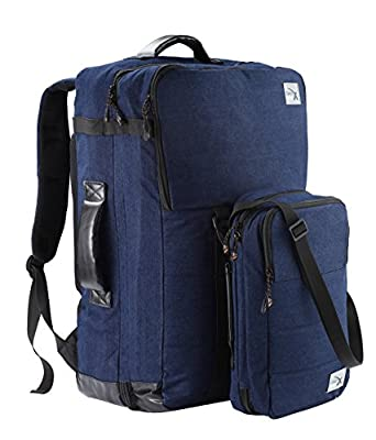 Cabin Max Nettuno duo hand luggage backpack and stowaway set suitable for Ryanair