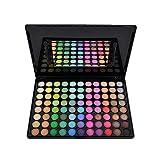 JasCherry 88 Farben Lidschatten Makeup Palette Set - Sleek Pulver Augenschatten Professional Make Up Etui Box - Satte Farben Kosmetik Eyeshadow Palette Kit #2