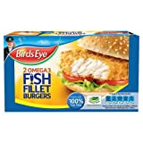 Birds Eye 2 Omega 3 Fish Fillet Burgers 227g 2s