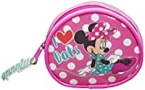 DISNEY MINNIE MOUSE KIDS GIRLS MONEY CHANGE COIN ZIP AROUND PURSE OFFICIAL NEW