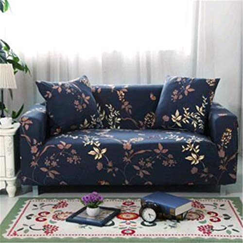 SHFOLSFH Inkjet-Muster elastische Stretch Universal Sofa Abdeckungen Schnitt Werfen Couch Ecke Cover Cases für Möbel Sessel Home Decor 19 Three seat Sofa -