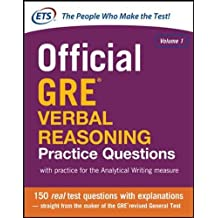 Official GRE Verbal Reasoning Practice Questions (Test Prep)