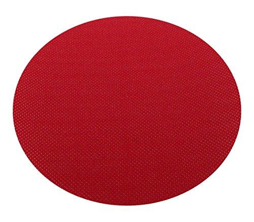 1 Stück Klingspor Klettauflage/Klettbelag für Tellerschleifer | Selbstklebend | Ø wählbar (Ø 225 mm)