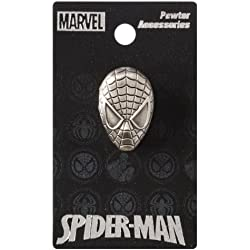 Marvel Spider-Man Cabeza Peltre Pin de Solapa