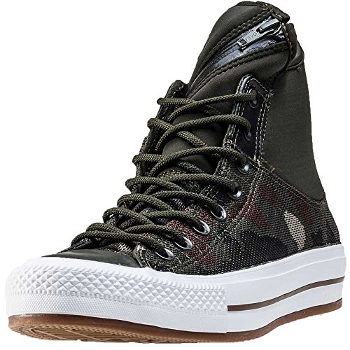 GREEN HIGH SNEAKERS CONVERSE 153628C camouflage