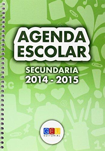 Agenda secundaria 2014-2015. Espiral por GEU