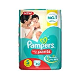 Pampers Pant S Diapers (60 Pieces)