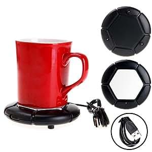 USB Cup Warmer Pad For Keeping Warm Coffee Tea & Milk
