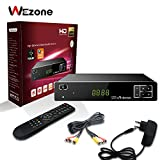 Wezone Digital Satellite Receiver 888A HD, Free to Air DVB-S2 Set Top Box
