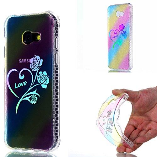 iPhone 7 Plus Cover, iPhone 8 Plus Cover, WindTeco Divertente Motivo Design Colorato Cristallo Trasparente Ultra Sottile Morbido TPU Gel Case Cover per Apple iPhone 7 Plus / iPhone 8 Plus Rosa