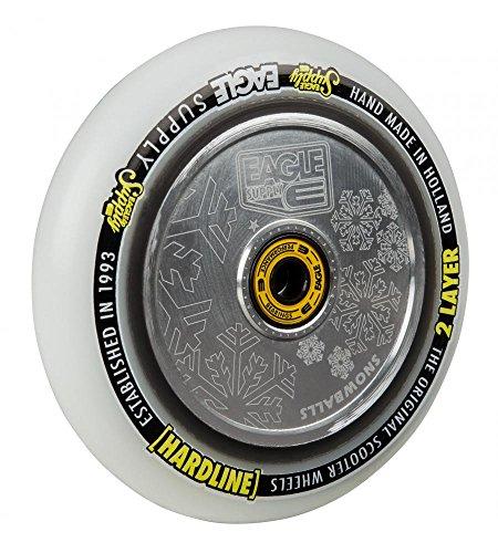 Eagle hollowtech - ruota per monopattino - design con fiocchi di neve - 115 mm