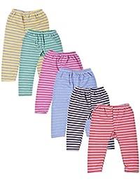 Kuchipoo Unisex Regular Fit Fleece Pyjama Bottom (Pack of 6)