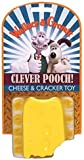 Rosewood Wallace and Gromit Cheese and Crackers Latex Dog Toy