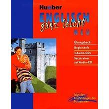 Englisch ganz leicht. NEU. Mit Übungsbuch, Begleitheft, 3 Audio-CDs und Satztrainer auf Audio-CD.