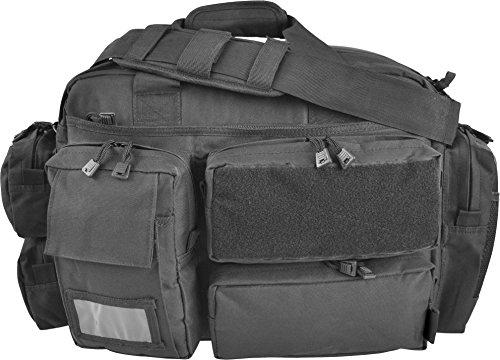 24 Sec, Farbe (Security Einsatztasche mit vielen verschiedenen Fächern und Laptopfach aus Cordura Farbe Black)